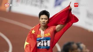 百米飞人苏炳添专访现在黄种人比白种人跑得快,有望突破9秒85