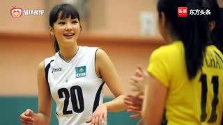 日本女排莎宾娜,可爱训练合集,未来的接班人