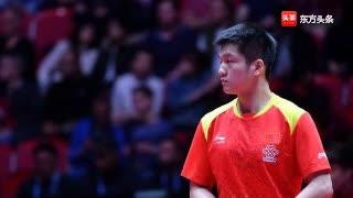 男单马龙樊振东许昕入围乒联总决赛 女单国乒占八席