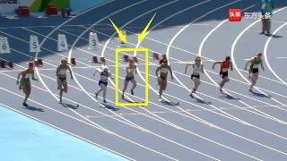 女飞人?起跑不好只排第六,但后程连超5人逆转夺冠打破世界纪录