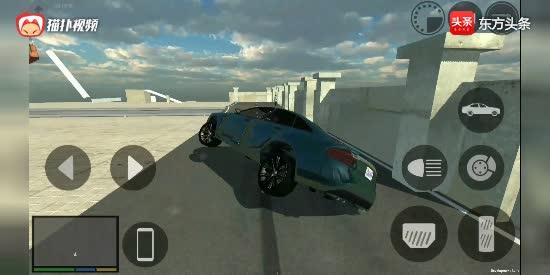 手机版GTA5洛杉矶犯罪: 开着奥迪去飙车, 附赠游戏下载方
