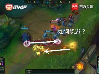 英雄联盟:韩服王者玩奇葩,岩雀面对2个控制技能,该如何脱身?