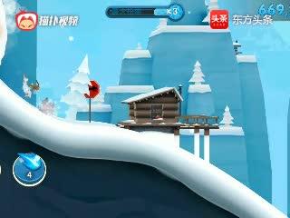 滑雪大冒险2:经典的跑酷神作,和雪崩一起速度与激情
