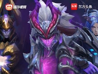 王者荣耀:游戏中那些恶魔皮肤你知道几个 吕布肤色撞脸灭霸