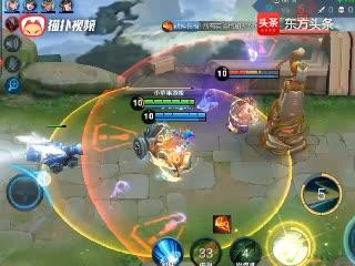 王者荣耀:蔡文姬重做,超级回血能力,带队友越塔强杀根本不掉血