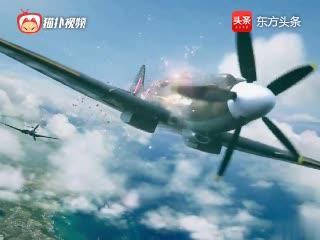 战机世界,刺激空战CG,最后那个飞机帅爆了