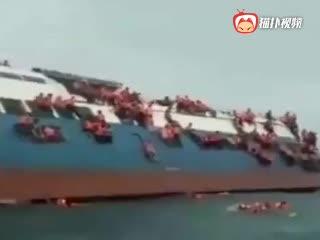 印尼载139人渡轮沉没 已有24名遇难者