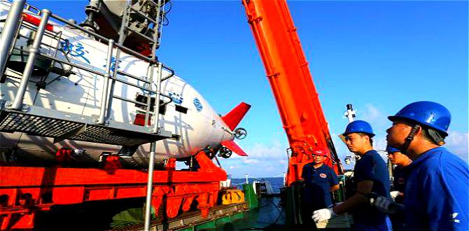 """""""蛟龍""""號赴南海進行深海科考 將完成地質生物學調查"""