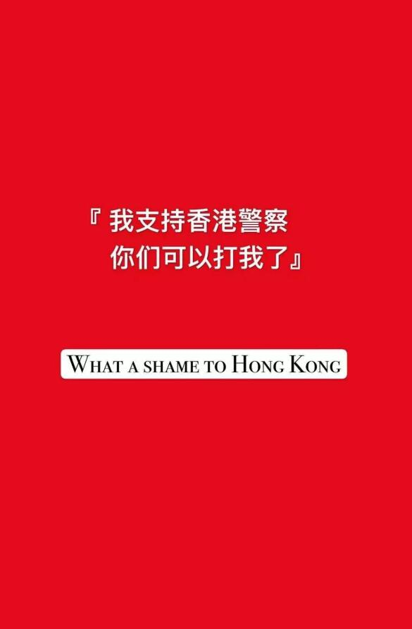"""环球网记者付国豪:""""我支持香港警察,你们可以打我了"""" -致敬真汉子!"""