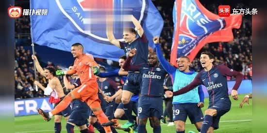 法甲:巴黎7-1摩纳哥提前5轮夺冠 六年五冠统治力可见一斑